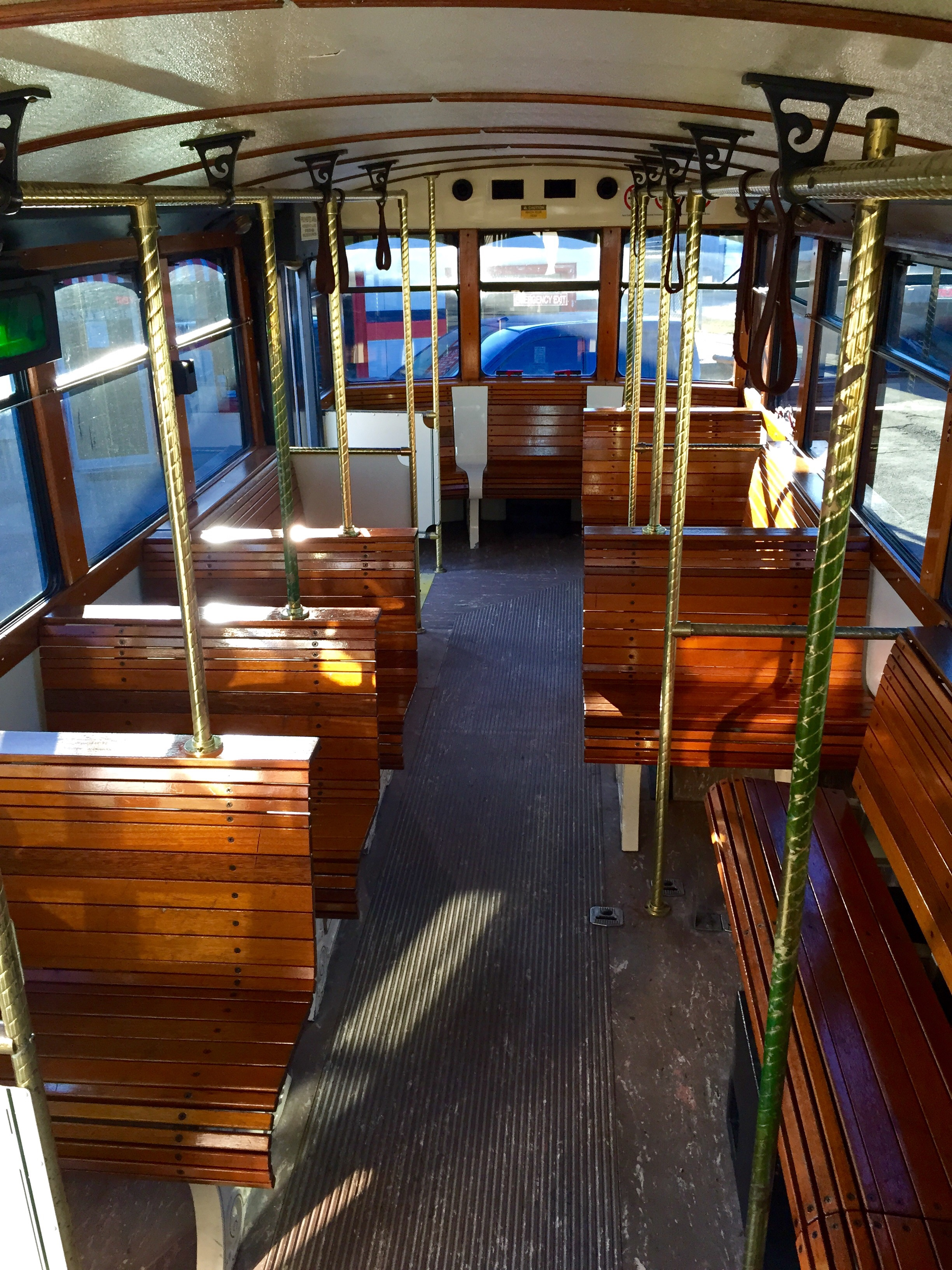 Trolley #4 Interior